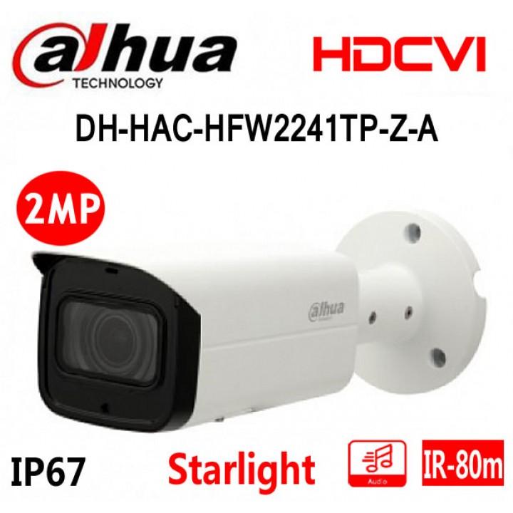 Dahua DH-HAC-HFW2241TP-Z-A (2.7 - 13.5 мм) Starlight CVI видеокамера на 2 MP