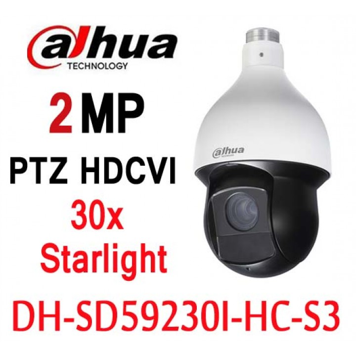 Dahua DH-SD59230I-HC-S3 PTZ 2Mп камера 30x Starlight