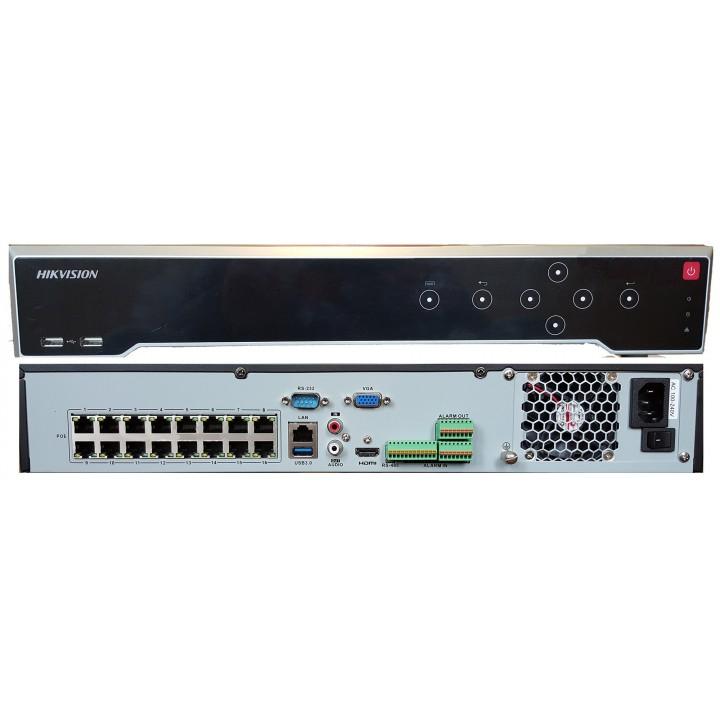 HikVision DS-7716NI-K4/16P 16-канальный IP видеорегистратор