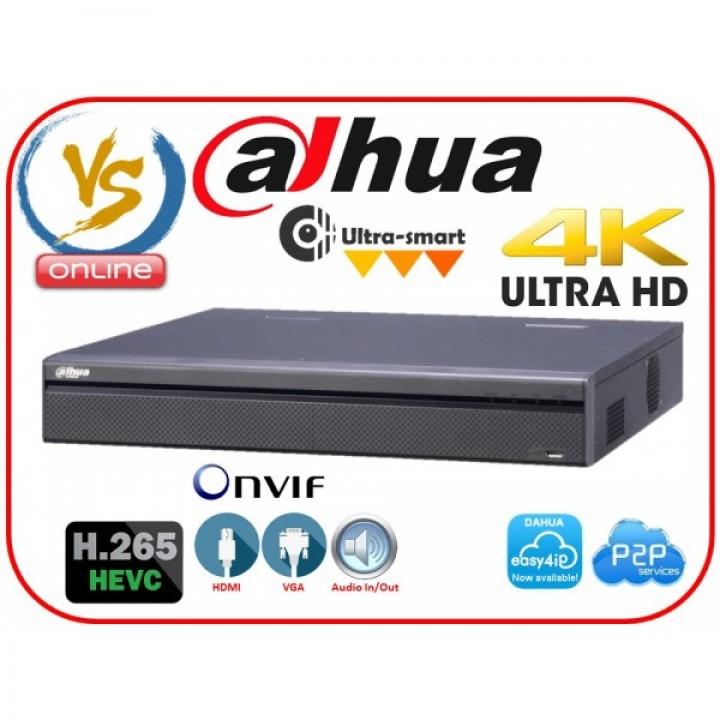 IP видеорегистратор Dahua DH-NVR4108HS-4KS2 на 8 камер
