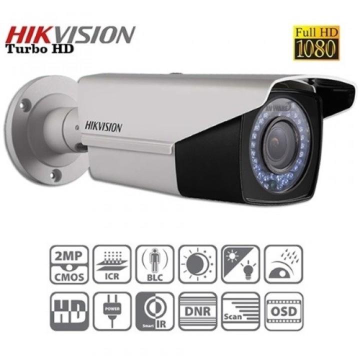 HD-TVI видеокамера 2 Mp HikVision DS-2CE16D1T-VFIR3 (2.8-12 мм)