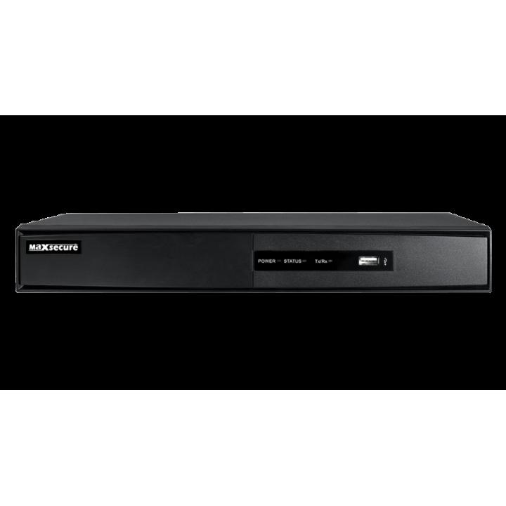 HD-TVI видеорегистратор на 4 камеры HikVision DS-7204HQHI-F1/N