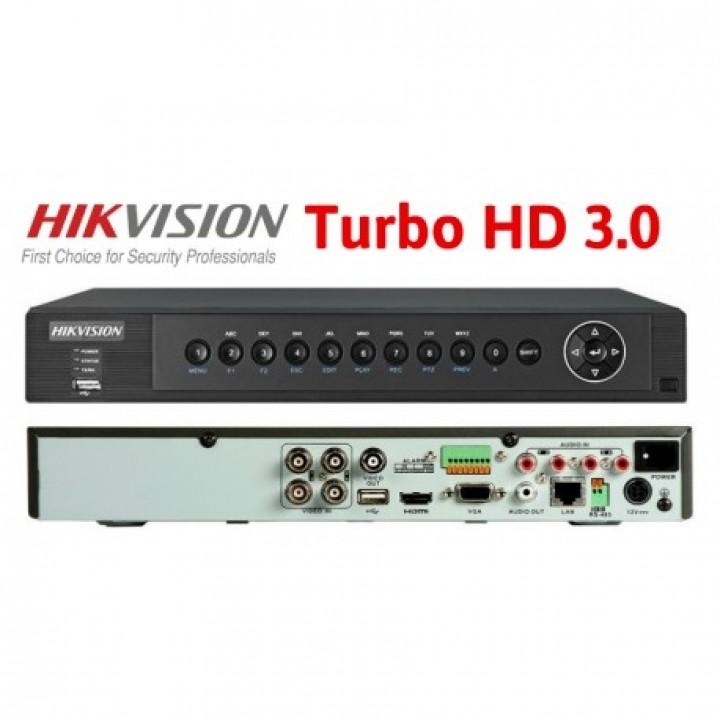 HD-TVI видеорегистратор на 4 камеры HikVision DS-7204HUHI-F1/S