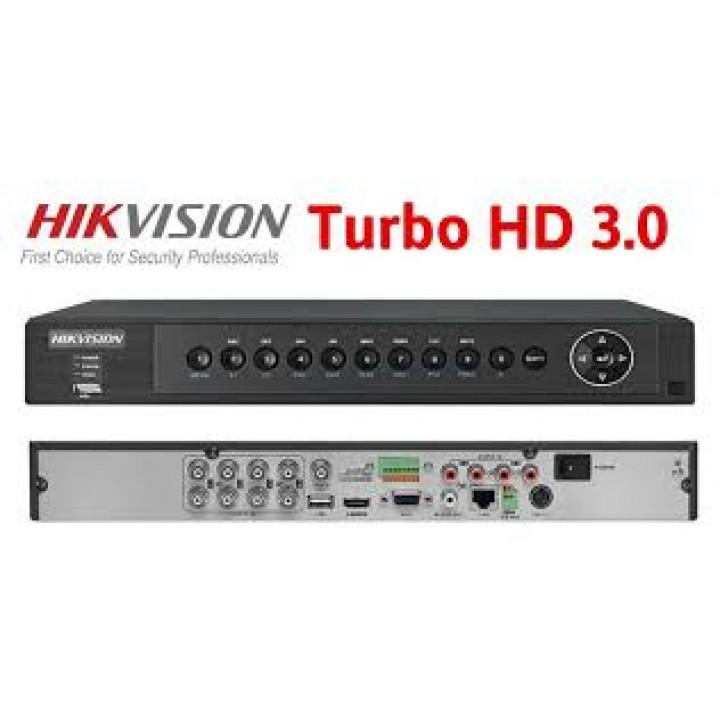 HD-TVI видеорегистратор на 8 камер HikVision DS-7208HUHI-F1/S
