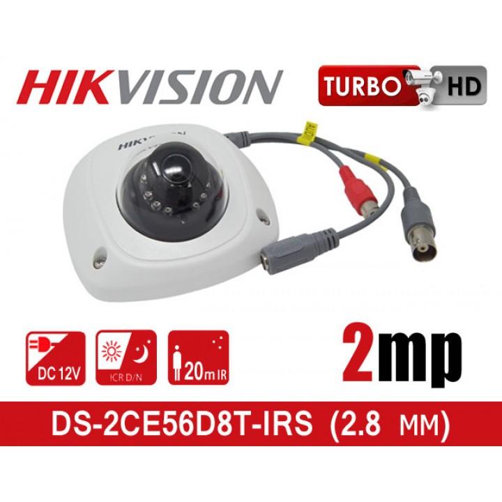 HikVision DS-2CE56D8T-IRS (2.8 мм) HD-TVI видеокамера 2 MP