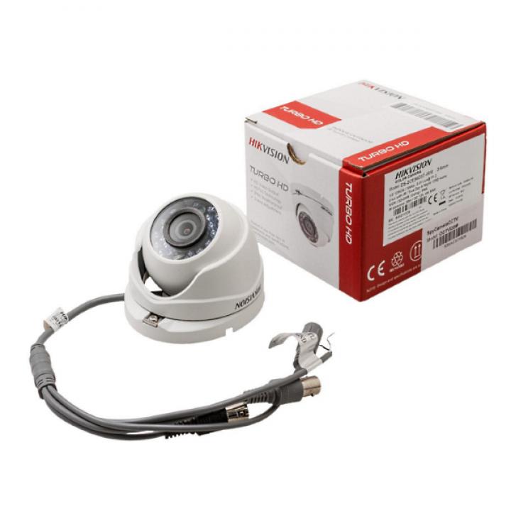 HD-TVI видеокамера 1.0 Mp HikVision DS-2CE56C0T-IRMF (2.8 мм)