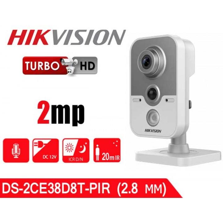 HikVision DS-2CE38D8T-PIR (2.8 мм) HD-TVI видеокамера 2 MP