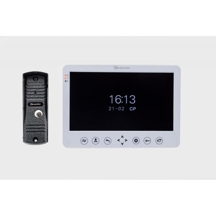 Комплект домофона PC-715R + панель PC-201 PoliceCam