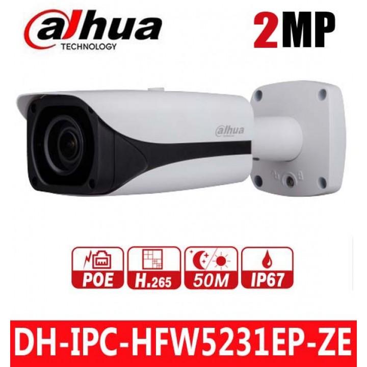 Dahua DH-IPC-HFW5231EP-ZE (2.7 - 13.5 мм) видеокамера на 2 MP
