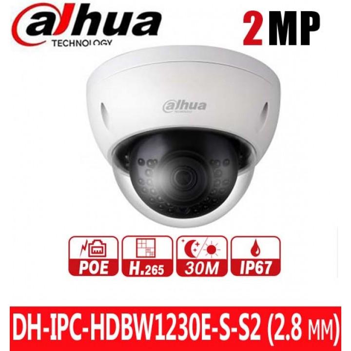 Dahua DH-IPC-HDBW1230E-S-S2 (2.8 мм) IP видеокамера на 2 MP