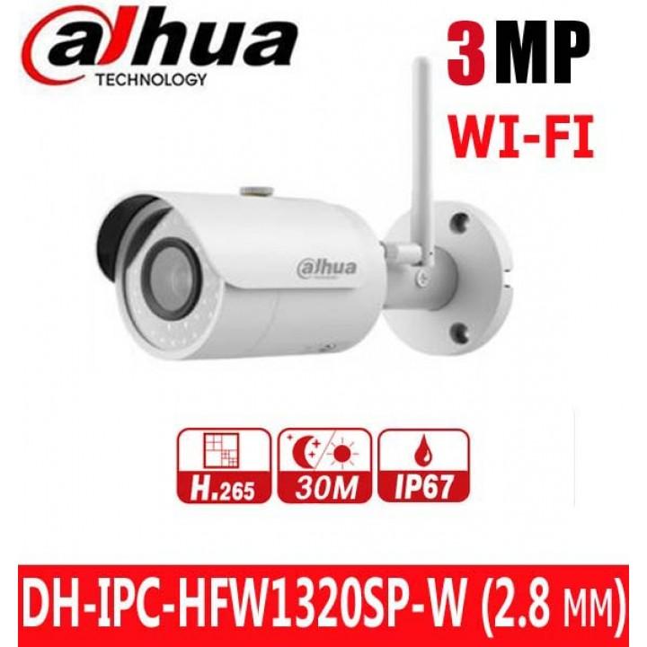 Dahua DH-IPC-HFW1320SP-W (2.8 мм) WI-FI IP видеокамера на 3 MP