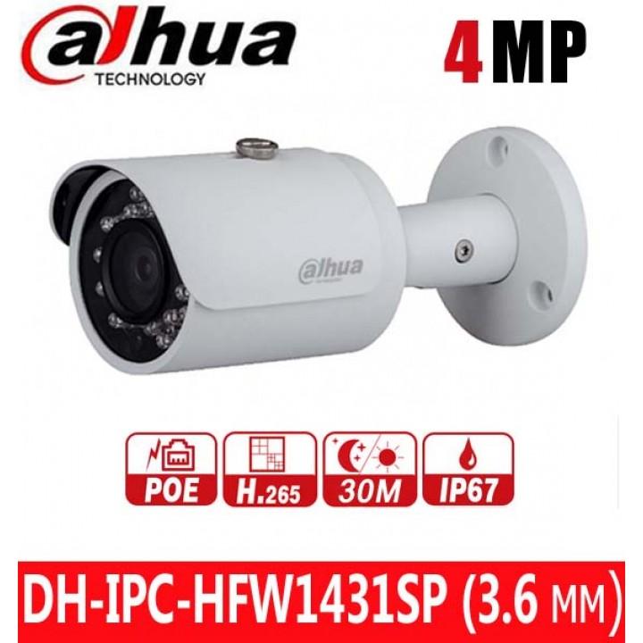 Dahua DH-IPC-HFW1431SP (3.6 мм) IP видеокамера на 4 MP