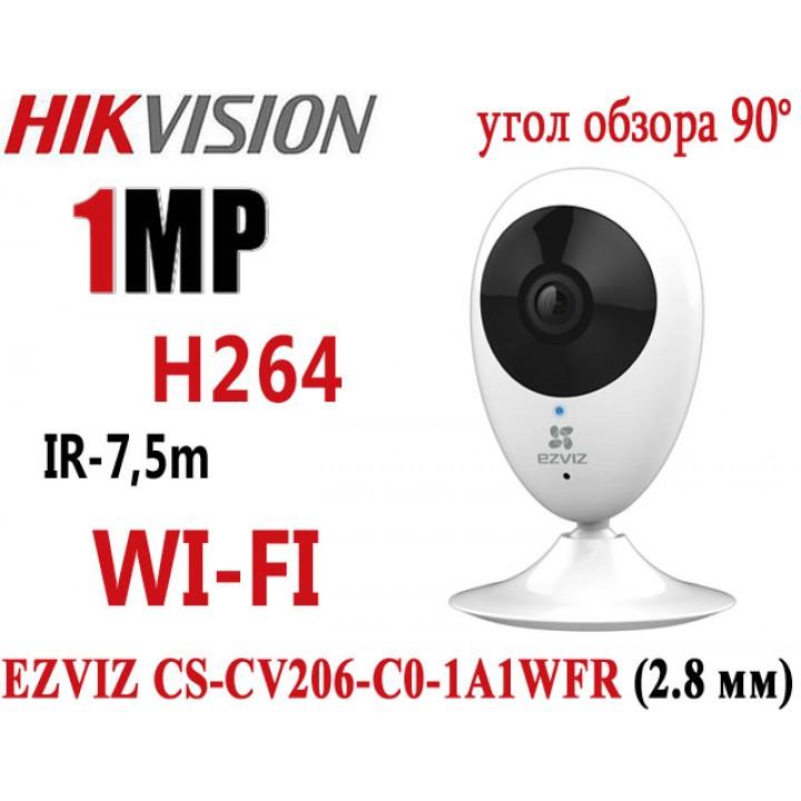 EZVIZCS CS-CV206-C0-1A1WFR (2.8 мм) IP видеокамера на 1 MP