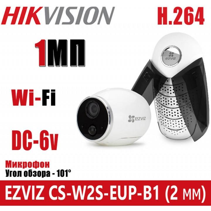 EZVIZ CS-W2S-EUP-B1 (2 мм) WI-FI IP камера 1 Мп
