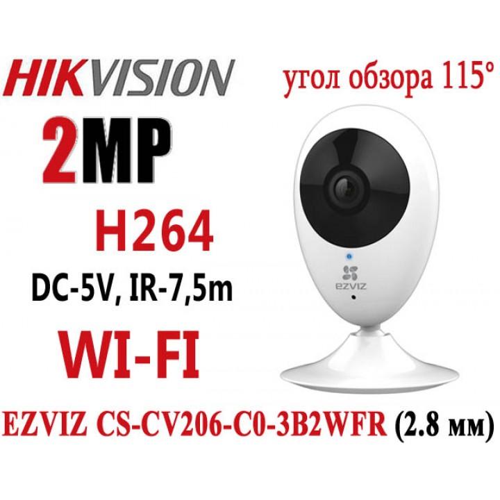 EZVIZCS CS-CV206-C0-3B2WFR (2.8 мм) IP видеокамера на 2 MP