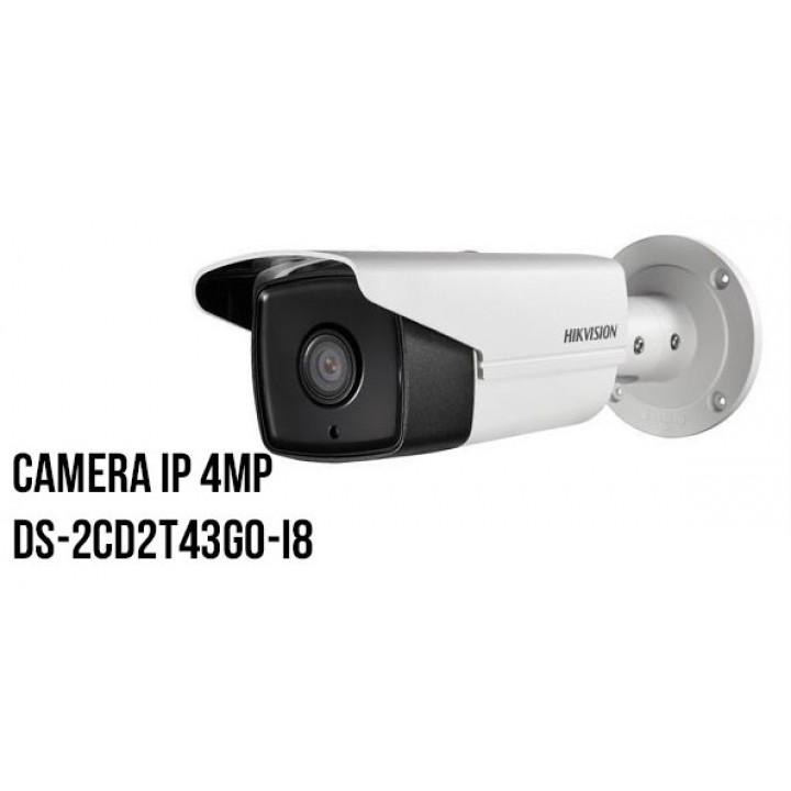 HikVision DS-2CD2T43G0-I8 (8 мм) IP видеокамера на 4 MP