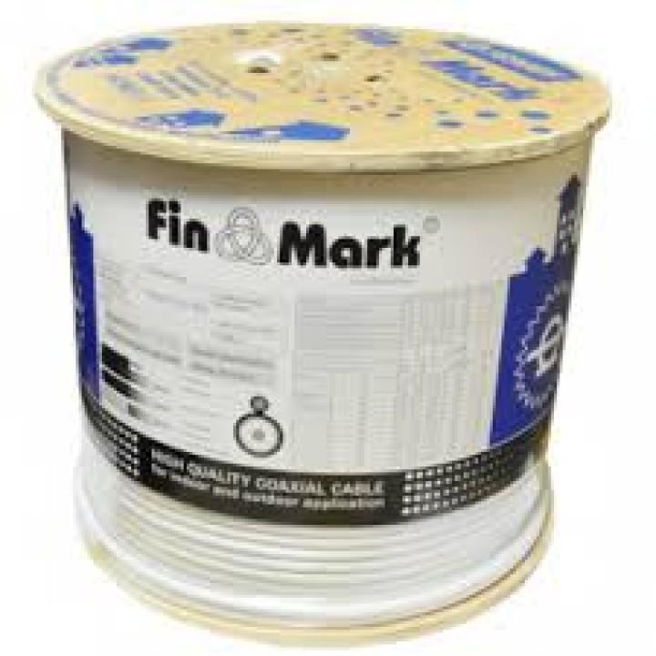 Коаксиальный кабель FinMark F 660BV белый 305m