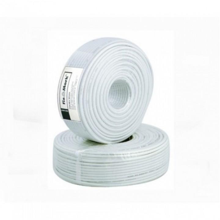 Коаксиальный кабель FinMark F 660BV White 100m