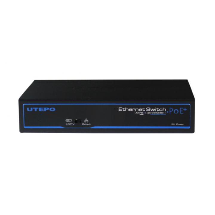 4-портовый POE коммутатор UTP3-SW04-TP60