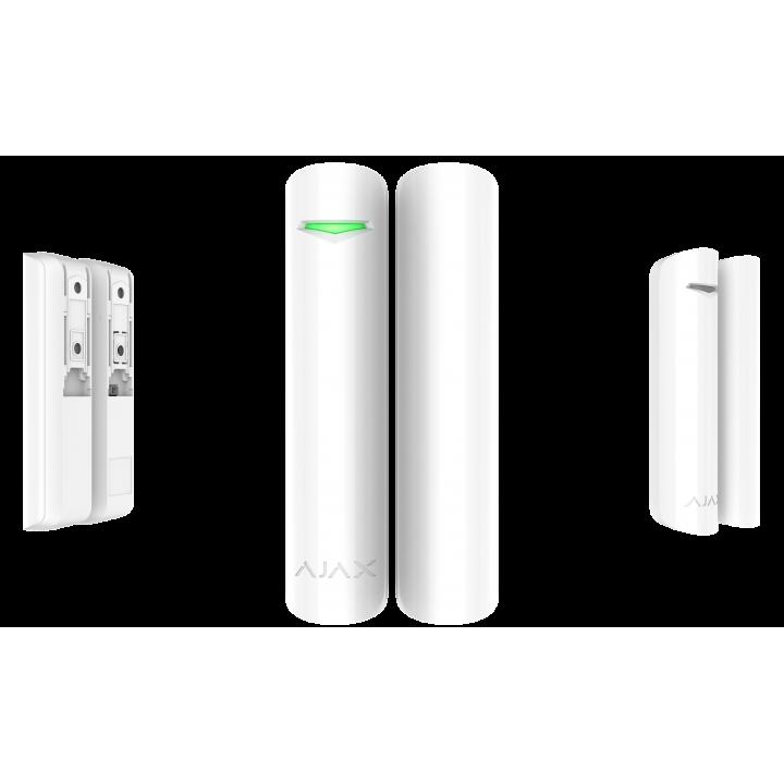 Беспроводной датчик открытия Ajax DoorProtect белый