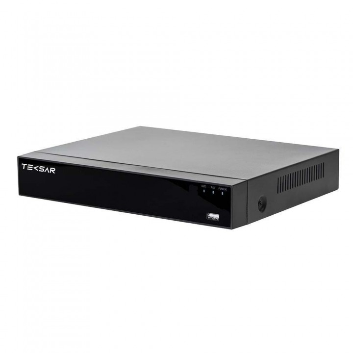 Гибридный видеорегистратор AHD Tecsar B4CH4A-HD